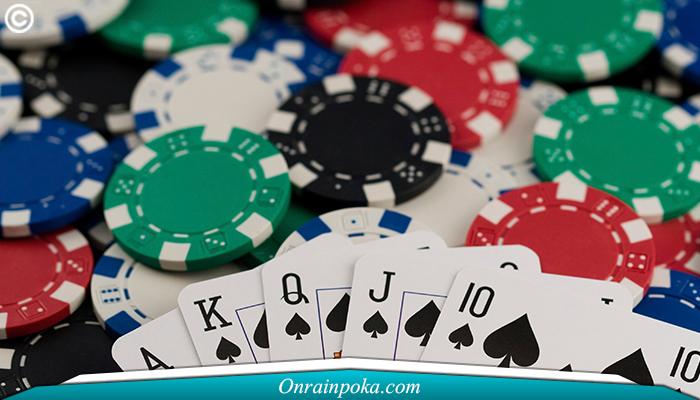 kesempatan menang judi kartu online poker